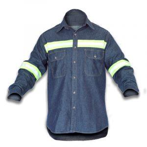 camisa-trabajo-jean-reflectiva-bicolor-frontal
